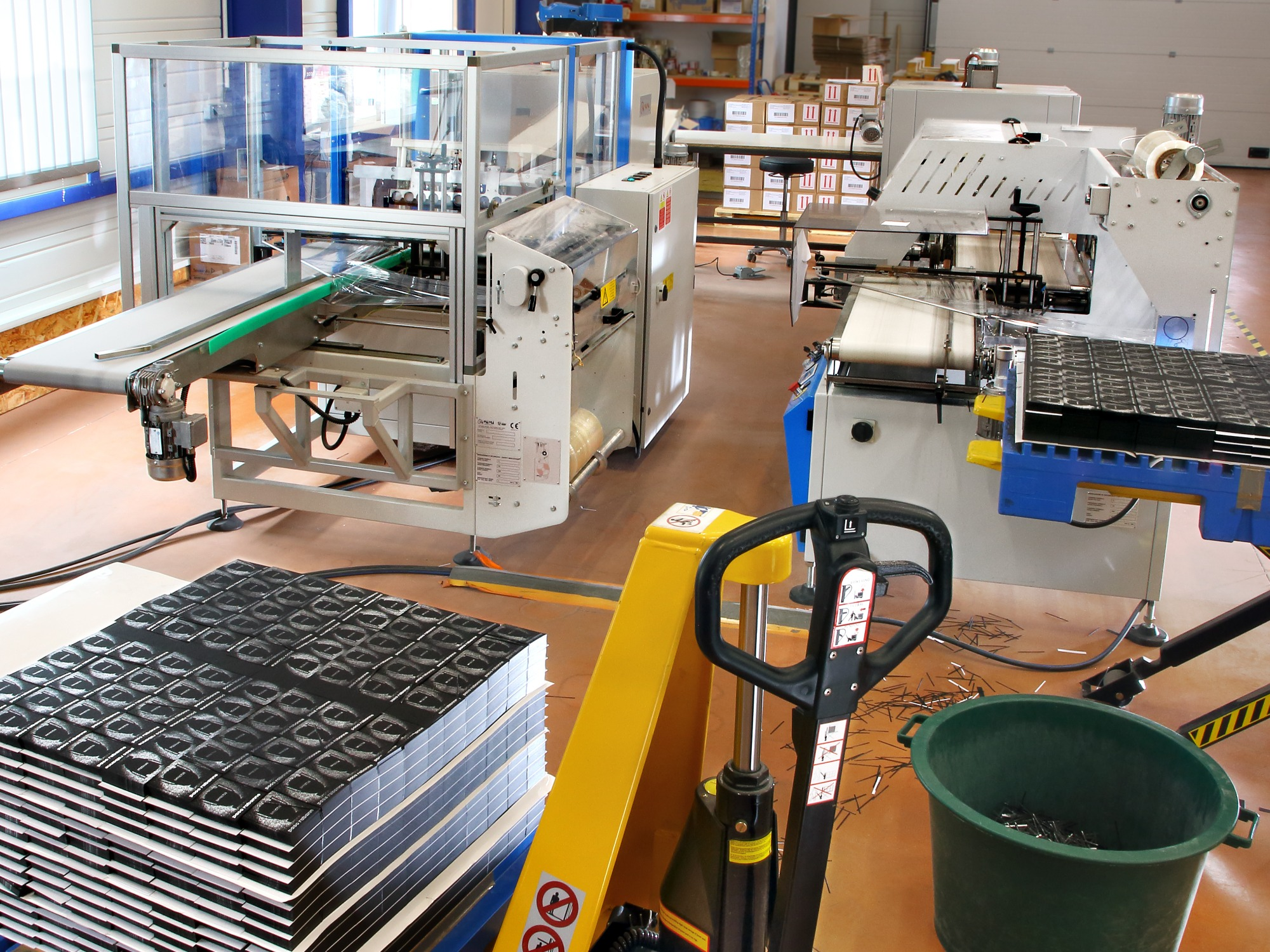 OUR PACKAGING LINES