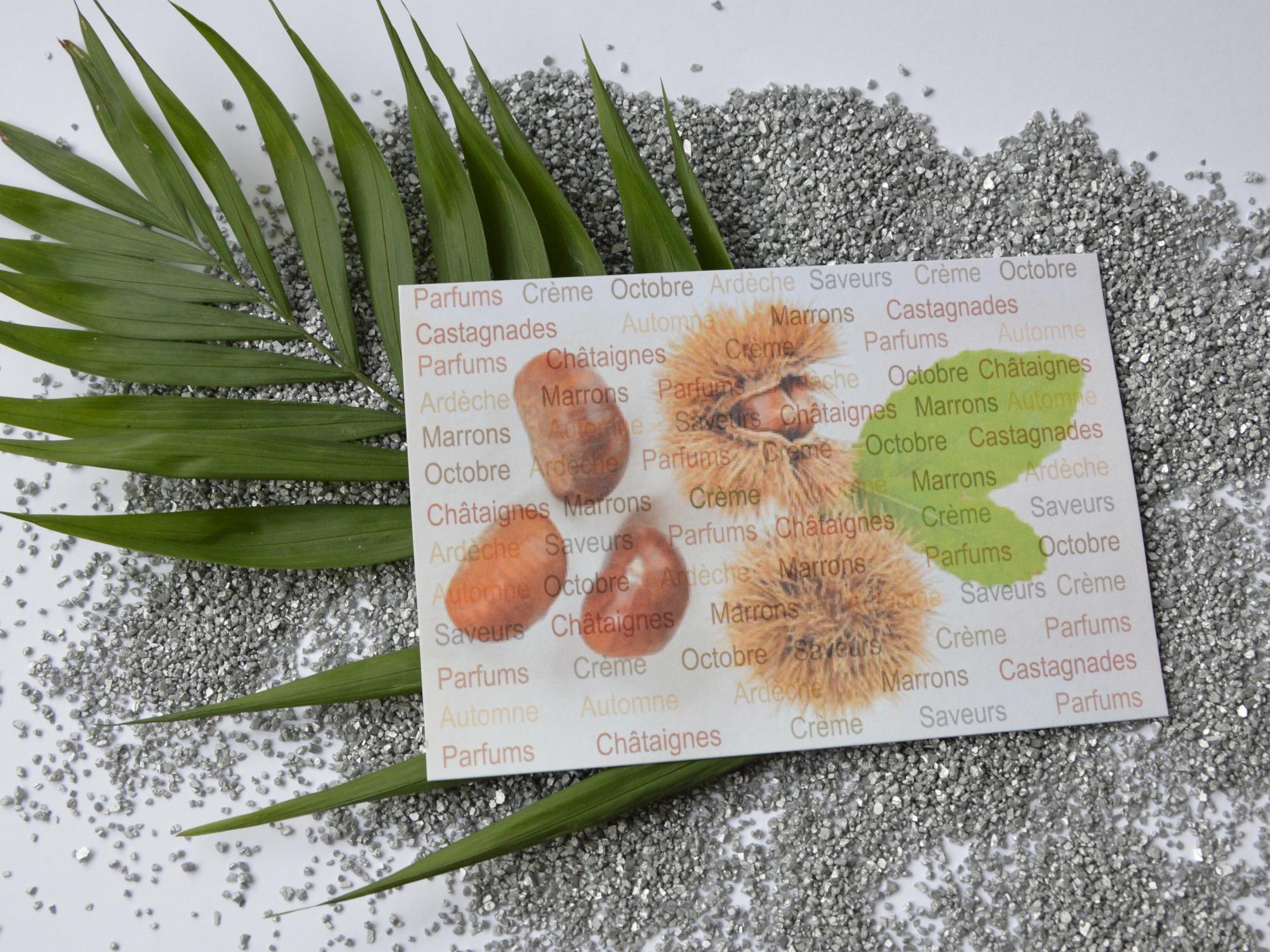 SCENTED card for the Taste Festival – 2019