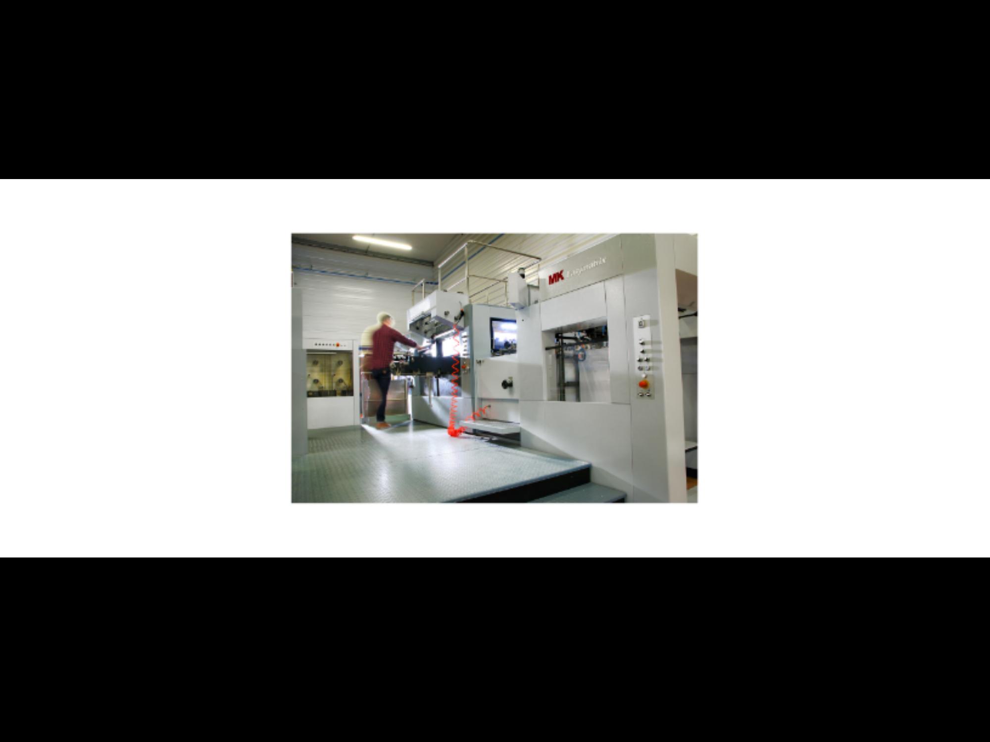 Notre MK EASYMATRIX Découpe / Gaufrage