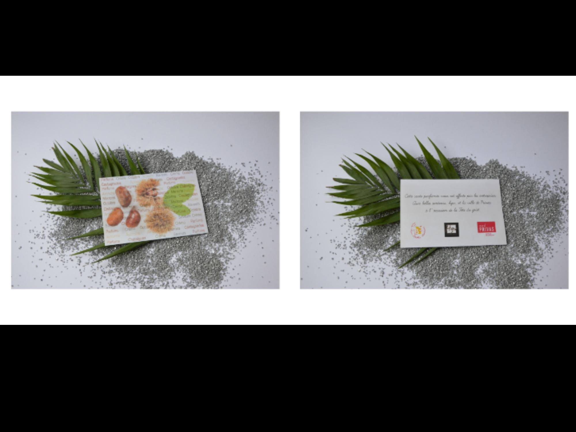 Carte Parfumée à l'occasion de la fête du goût - 2019